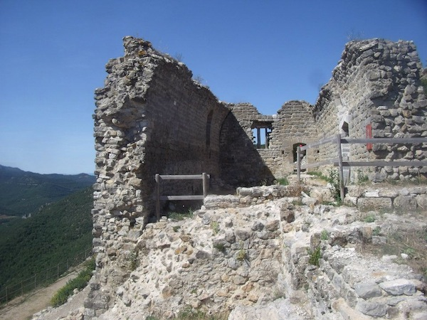 Château au Pays cathare