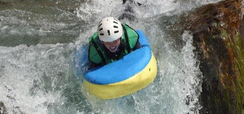 hydrospeed rafting dans l'aude