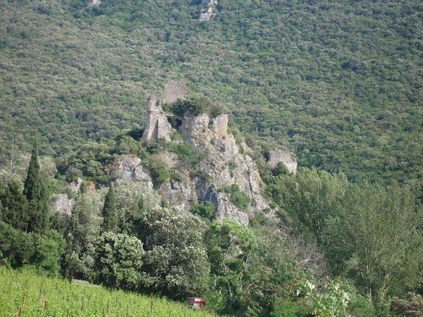 cathar castle  durfort