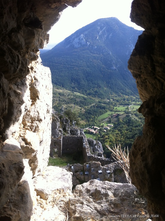 Puilaurens château pays cathare