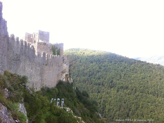 Château pays cathare