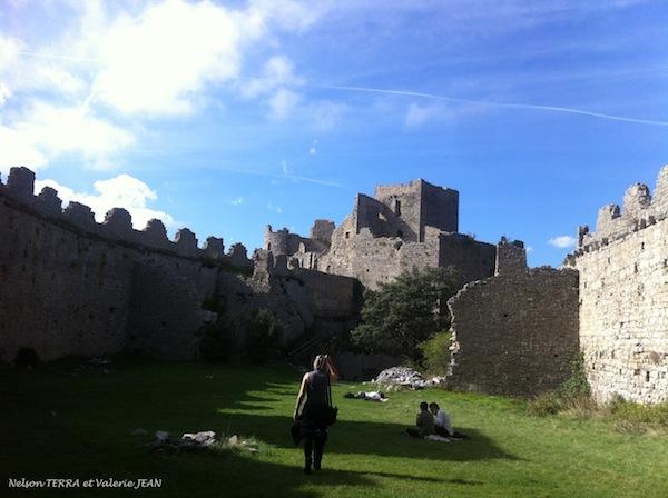 Château Puilaurens dans l'aude