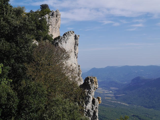 Peyrepertuse château du pays cathare