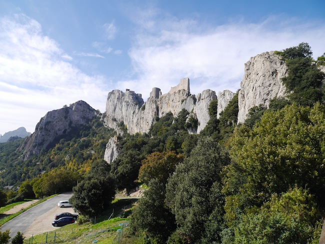 Aude cathare château Peyrepertuse