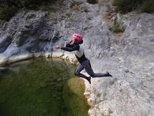 le canyoning dans l'Aude