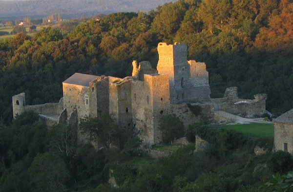 Aude cathare, château de saissac