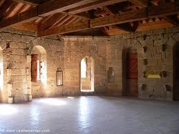 Intérieur château Arques Tourisme et patrimoine