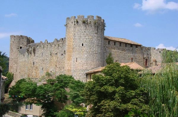 cathar castle Termenes villerouge france