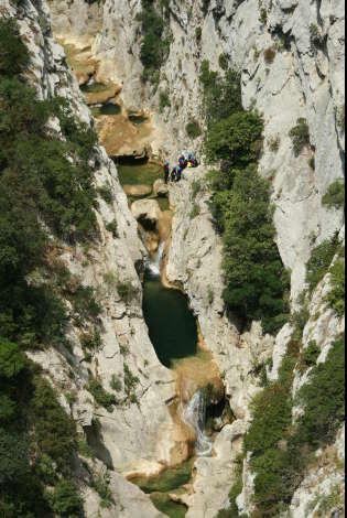 canyoning pyrennees aude galamus