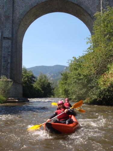 Rafting au Camping le Moulin du Pont d'Aliès