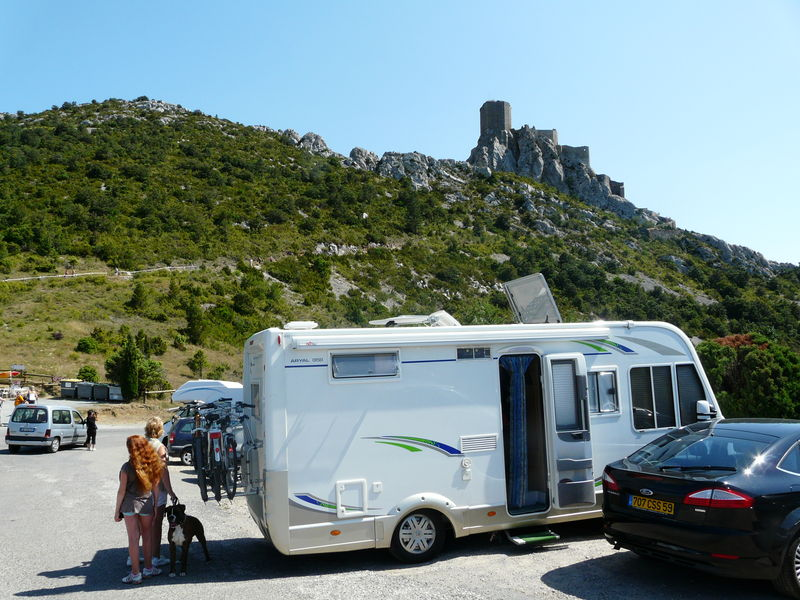sentier cathare camping car