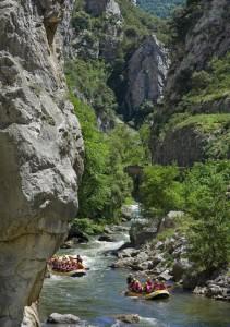 camping rafting aude