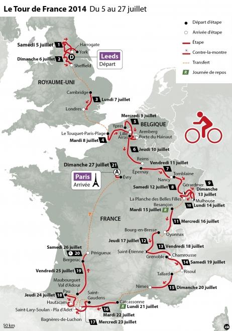 Tout de France 2014 Carcassonne Pyrénées| camping Alies