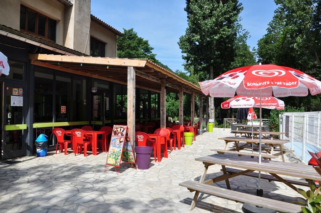 Bar et snack du camping du Pont d'Aliès