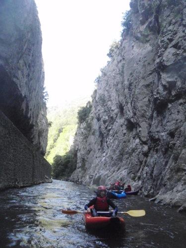 Camping gorge de l'Aude