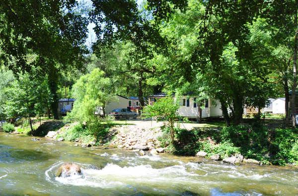 Notre camping en bord de rivière Aude