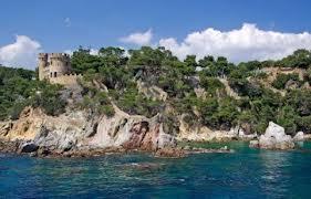 Camping près de la méditerranée