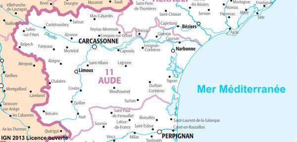 camping aude mer mediterranee