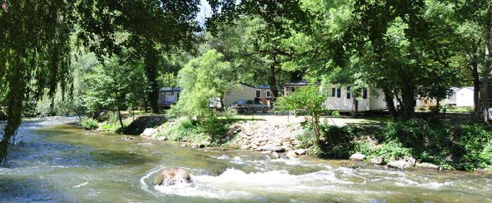 Camping le Pont d'Aliès