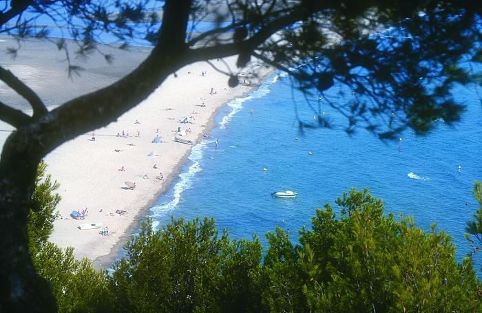 Paysage dans l'Aude proche camping piscine