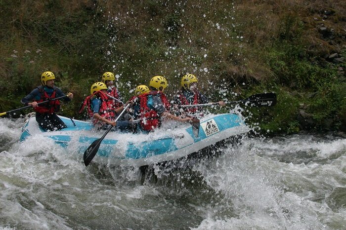 Rafting proche camping familial Aude