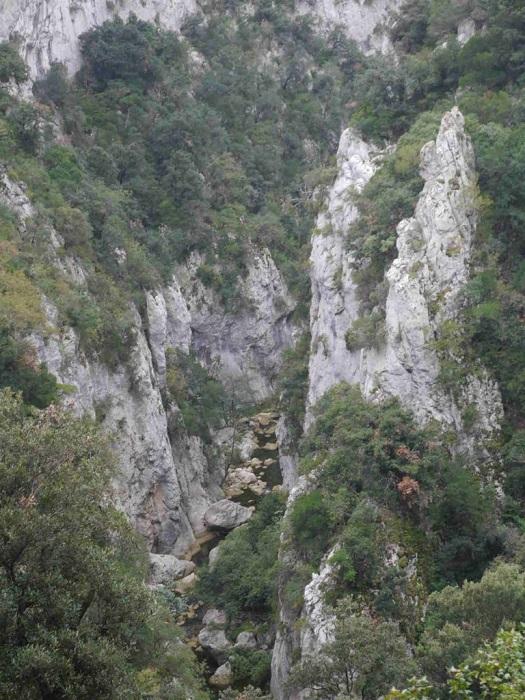Gorges de l'Aude proche du camping