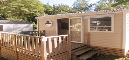Mobil-home 2 personnes camping