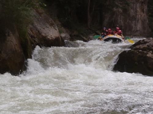 activités eaux vives camping 3 étoiles