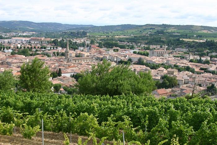 Ville de Limoux dans l'Aude