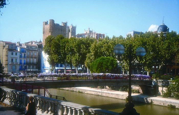 Ville dans l'Aude proche méditerranée