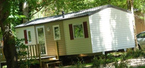 location mobil home au camping dans le Languedoc Rousillon