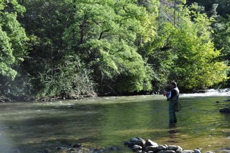 camping en Occitanie idéal pour la pêche en rivière