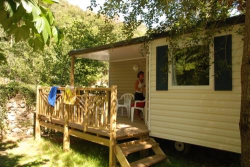location mobil home en Occitanie