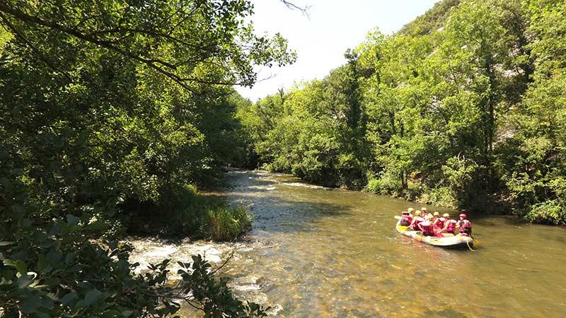 sports et activités nature près du camping