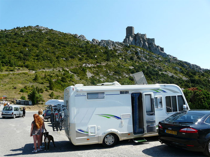 location emplacement camping-car Aude