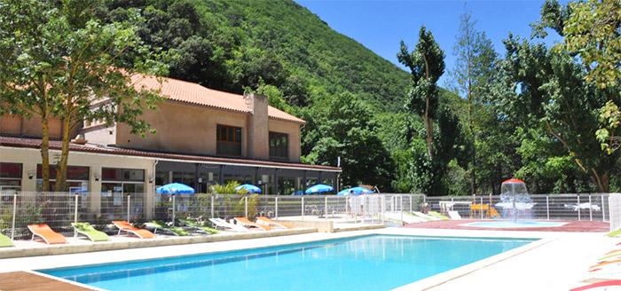 location de salle camping avec piscine