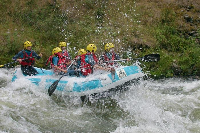 Rafting top camping Aude