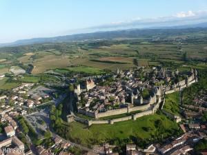 cîté de Carcassonne proche du camping