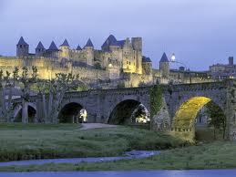 cité de Carcassonne situé près du camping