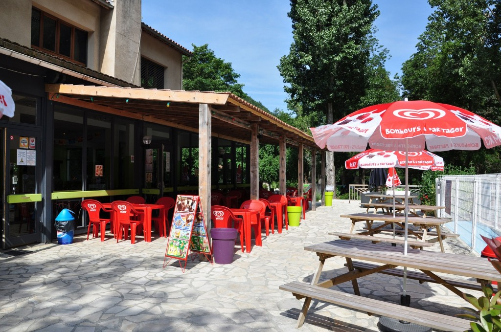 camping proche Carcassonne formule demi pension